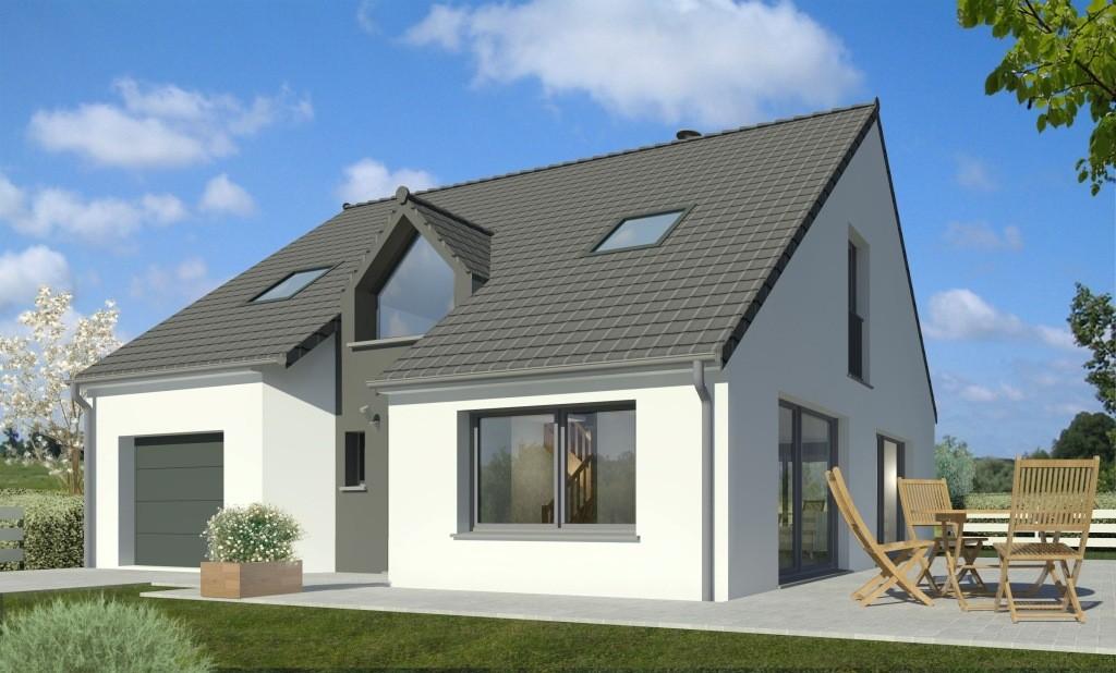 Maisons + Terrains du constructeur Maison Familiale - Lille • 109 m² • NOMAIN