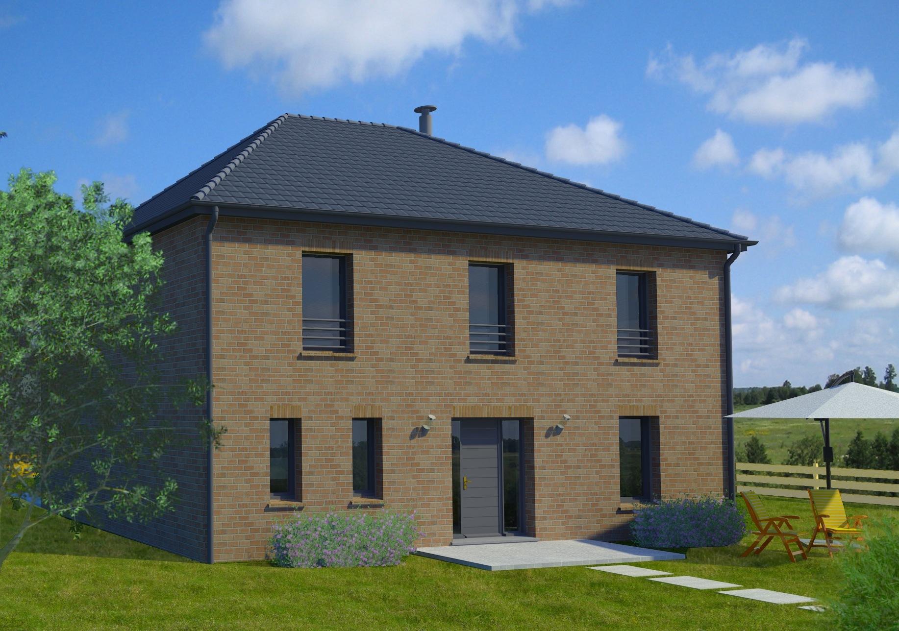 Maisons + Terrains du constructeur Maison Familiale - Lille • 156 m² • NOMAIN