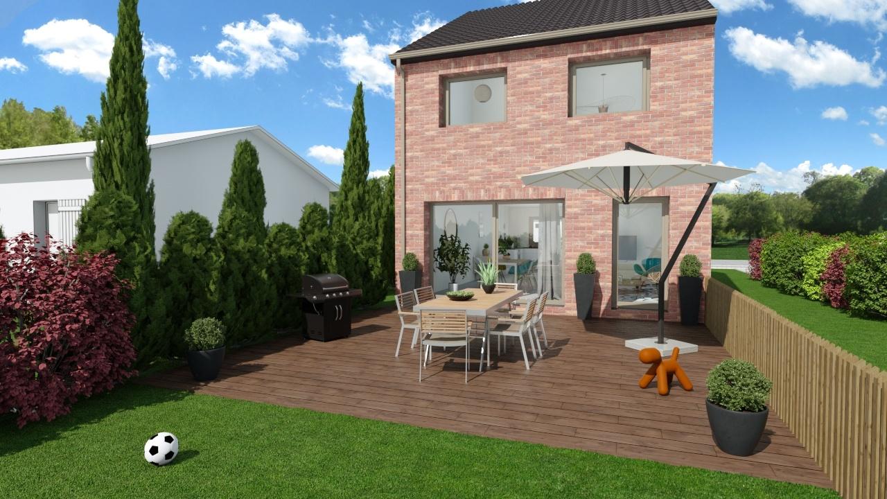 Maisons + Terrains du constructeur Maison Familiale - Lille • 100 m² • ARMENTIERES