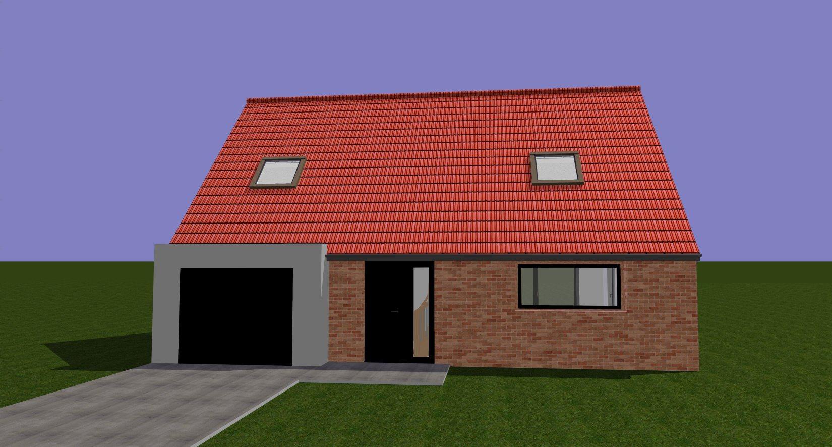 Maisons + Terrains du constructeur Maison Familiale - Lille • 121 m² • THUMERIES