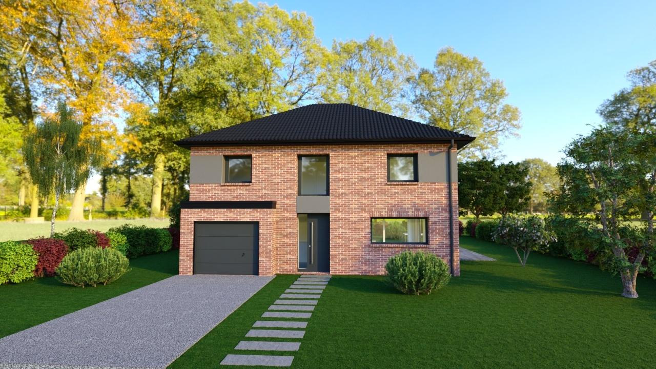 Maisons + Terrains du constructeur Maison Familiale - Lille • 108 m² • TEMPLEUVE