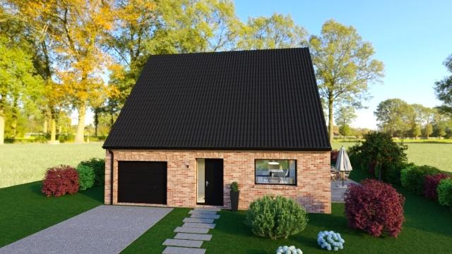 Maisons + Terrains du constructeur Maison Familiale - Lille • 110 m² • TEMPLEUVE