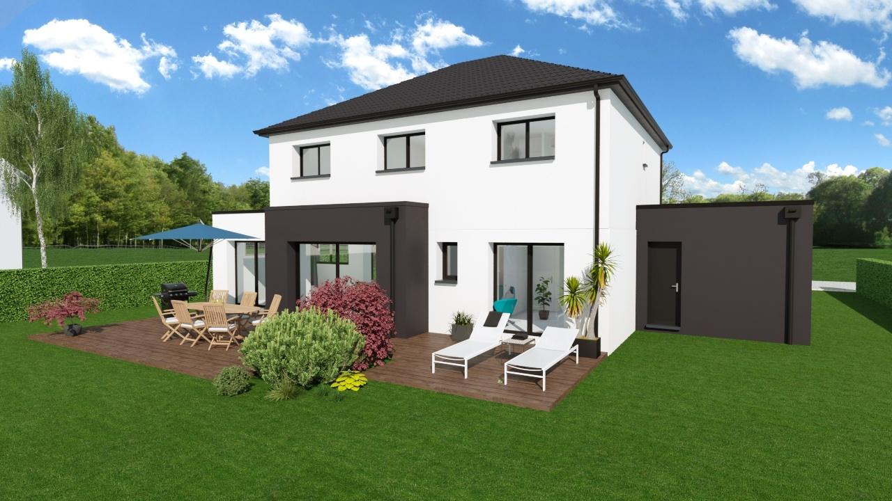 Maisons + Terrains du constructeur Maison Familiale - Lille • 150 m² • WAMBRECHIES