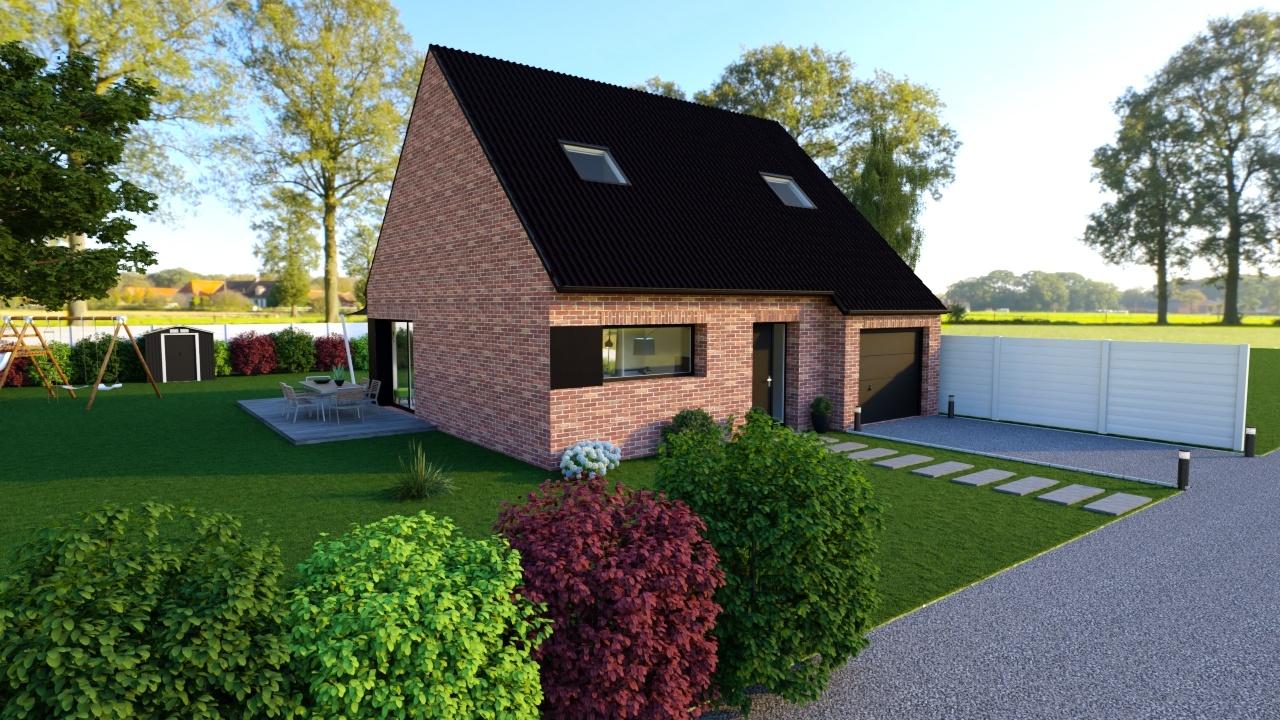 Maisons + Terrains du constructeur Maison Familiale - Lille • 125 m² • GENECH