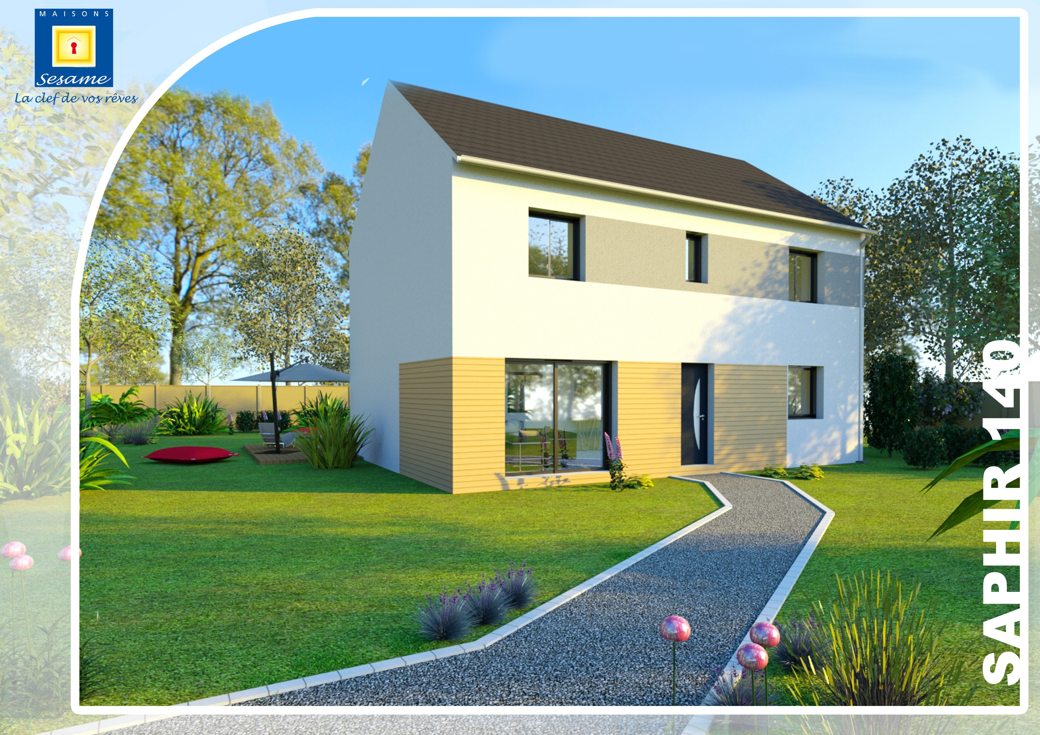 Maisons + Terrains du constructeur COFIDIM MAISONS SESAME • 122 m² • MAROLLES EN HUREPOIX
