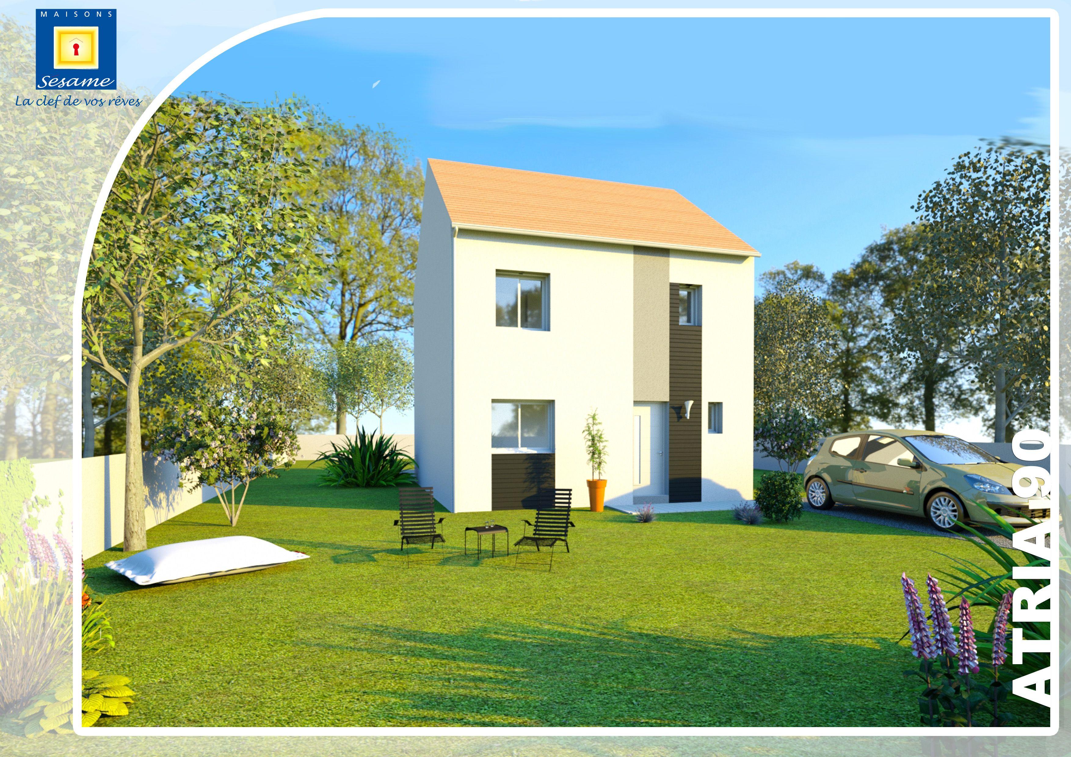 Maisons + Terrains du constructeur COFIDIM MAISONS SESAME • 90 m² • EGLY