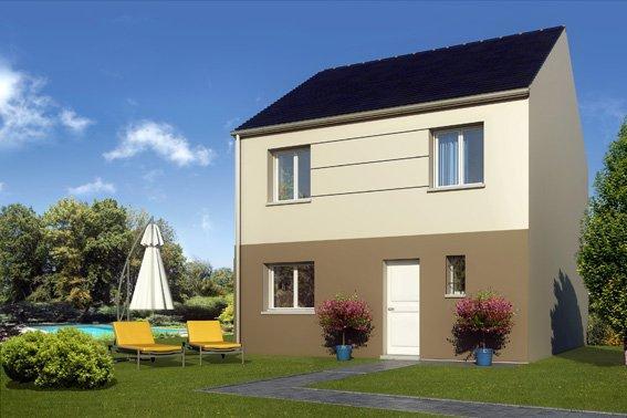 Maisons + Terrains du constructeur COFIDIM MAISONS SESAME • 90 m² • OLLAINVILLE