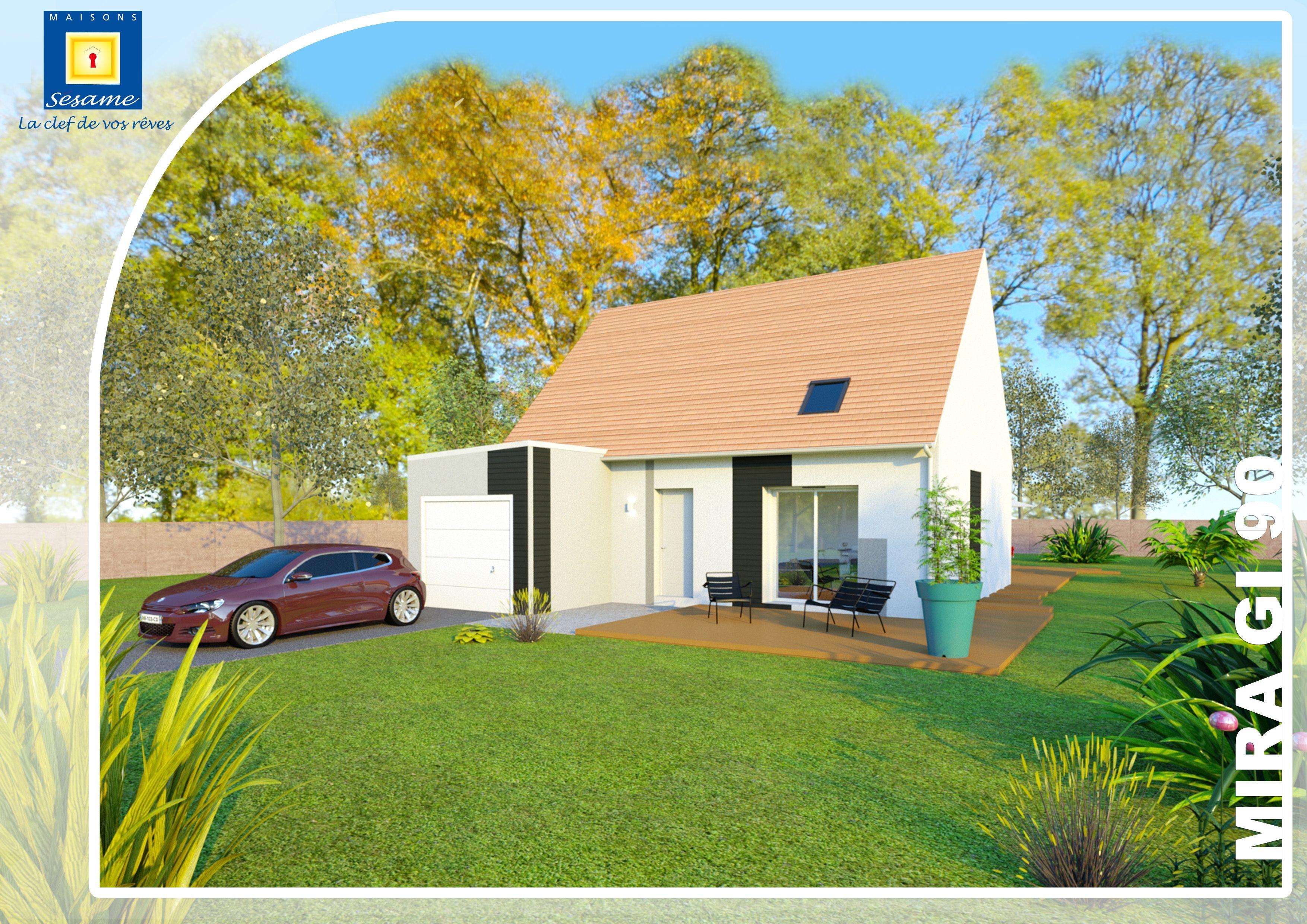 Maisons + Terrains du constructeur COFIDIM MAISONS SESAME • 100 m² • ARPAJON