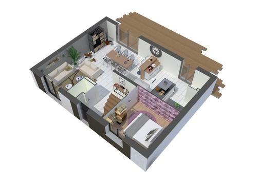 Maisons + Terrains du constructeur COFIDIM MAISONS SESAME • 100 m² • MARCOUSSIS
