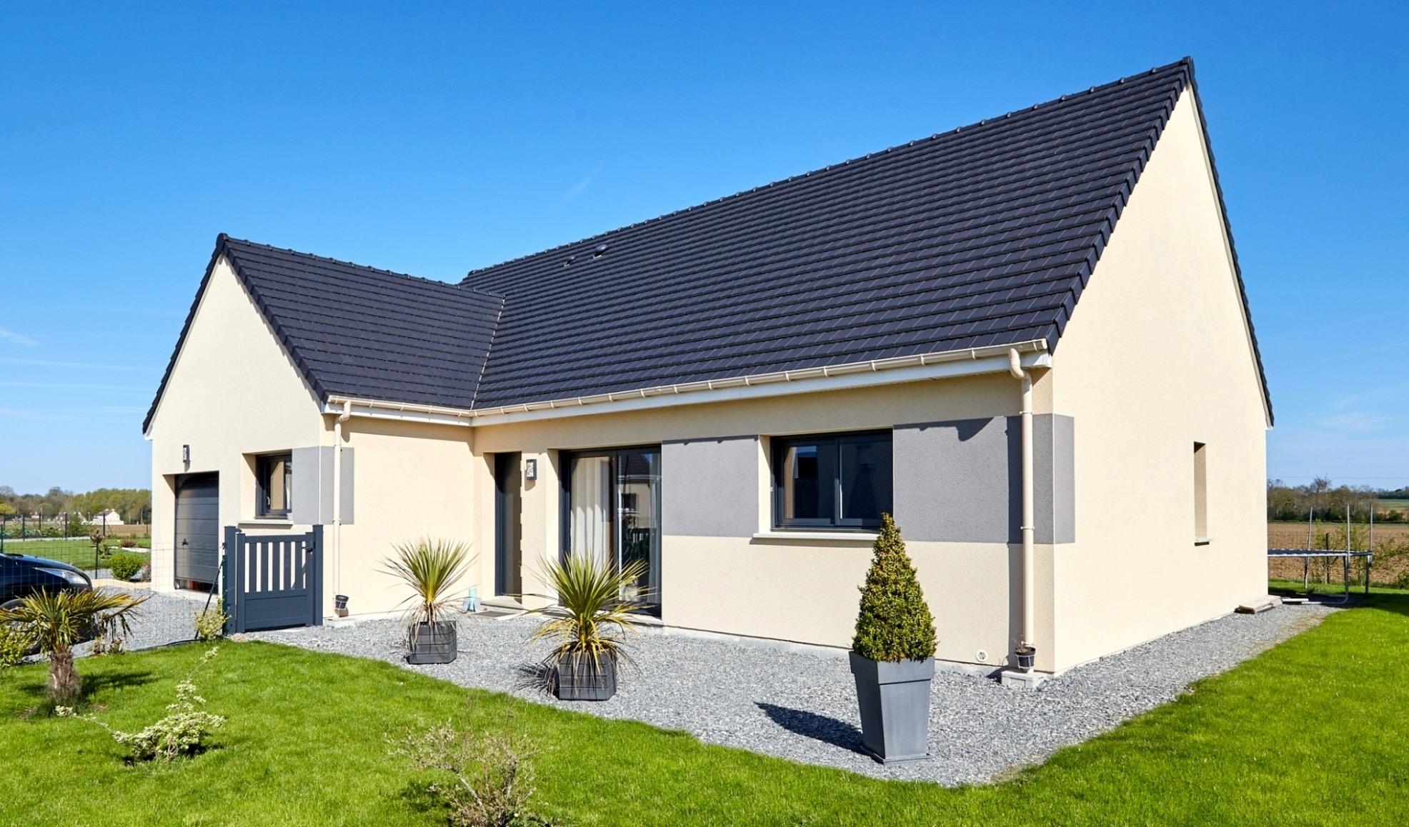Maisons + Terrains du constructeur Maison Castor Rouen • 110 m² • SAINT DENIS LE THIBOULT