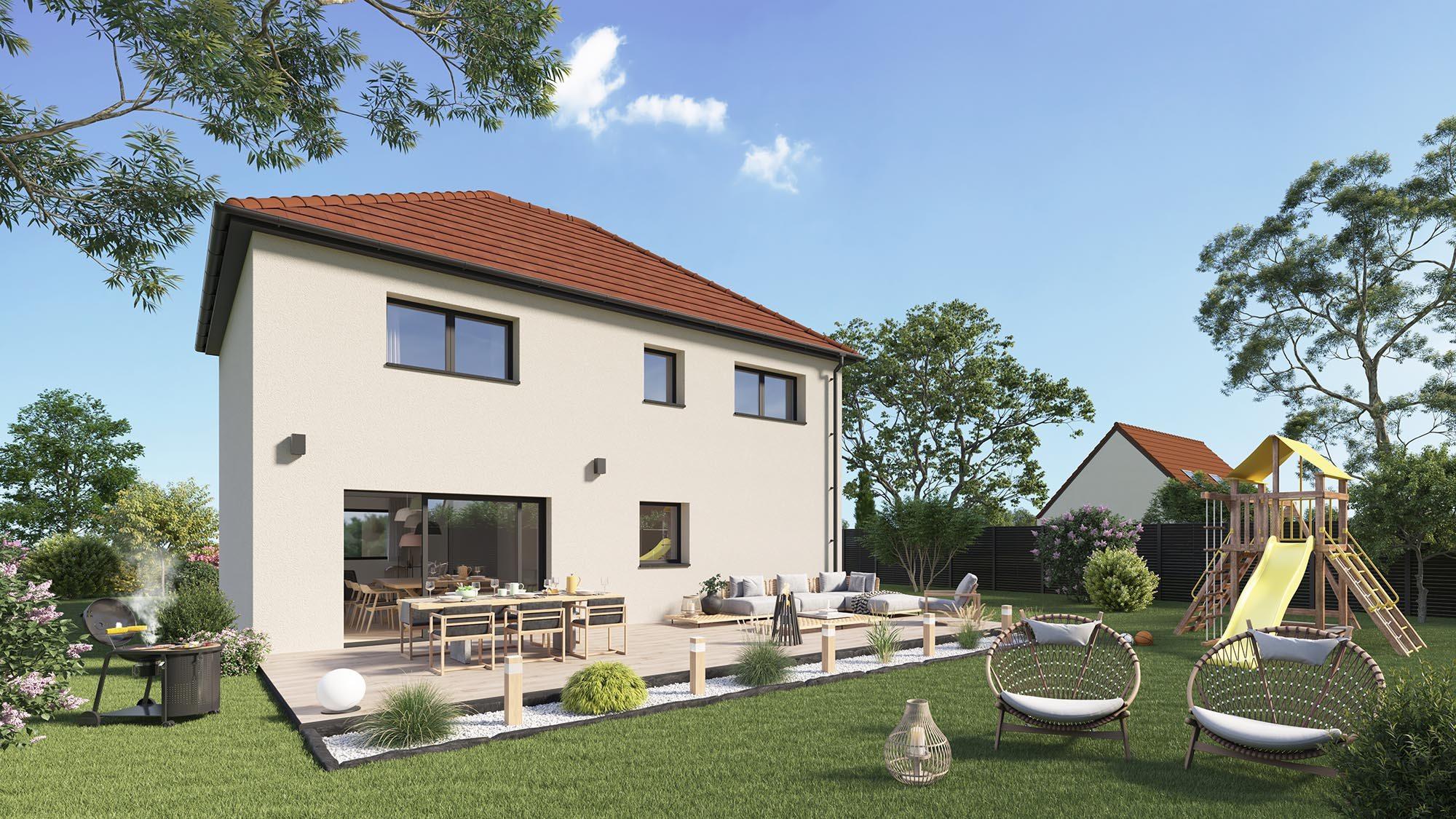 Maisons + Terrains du constructeur Maison Castor Rouen • 116 m² • SAINT DENIS LE THIBOULT