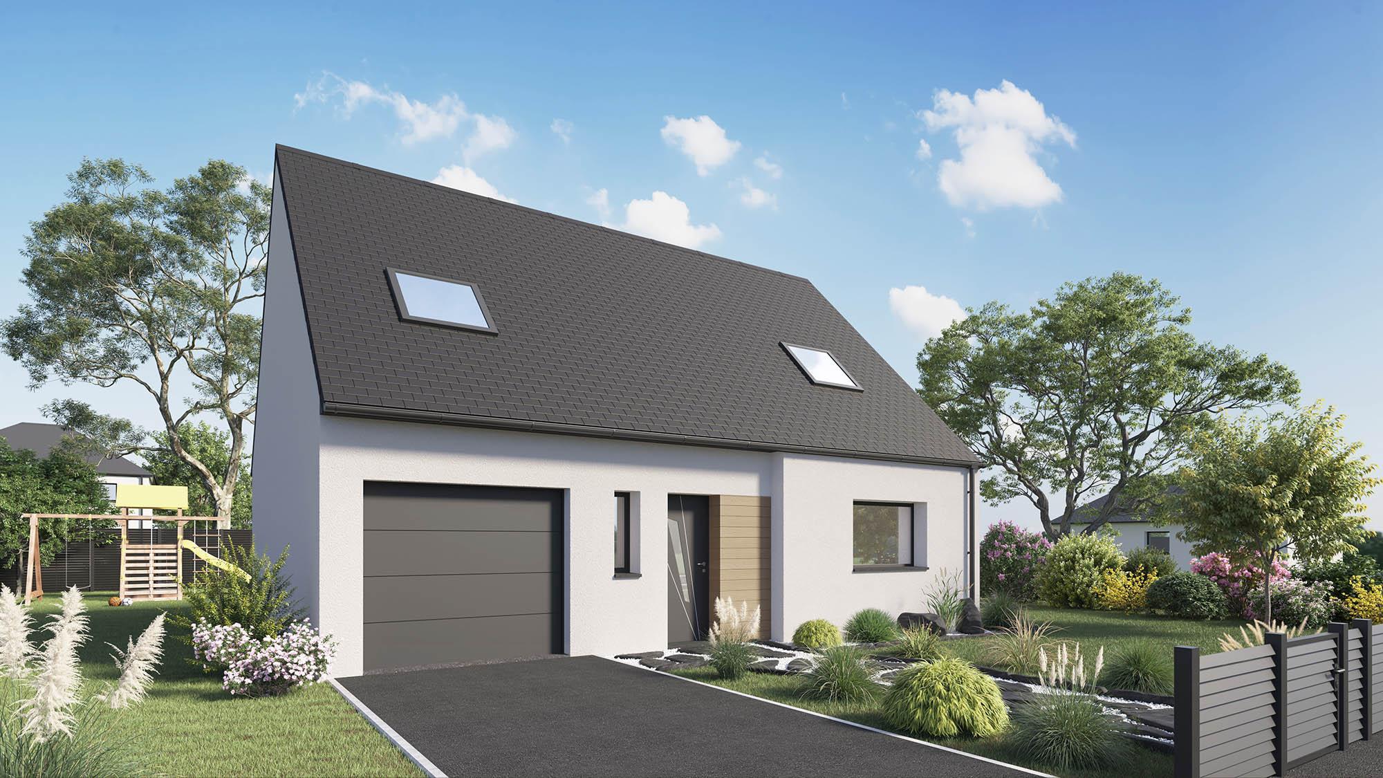 Maisons + Terrains du constructeur Maison Castor Rouen • 113 m² • TOURVILLE LA RIVIERE