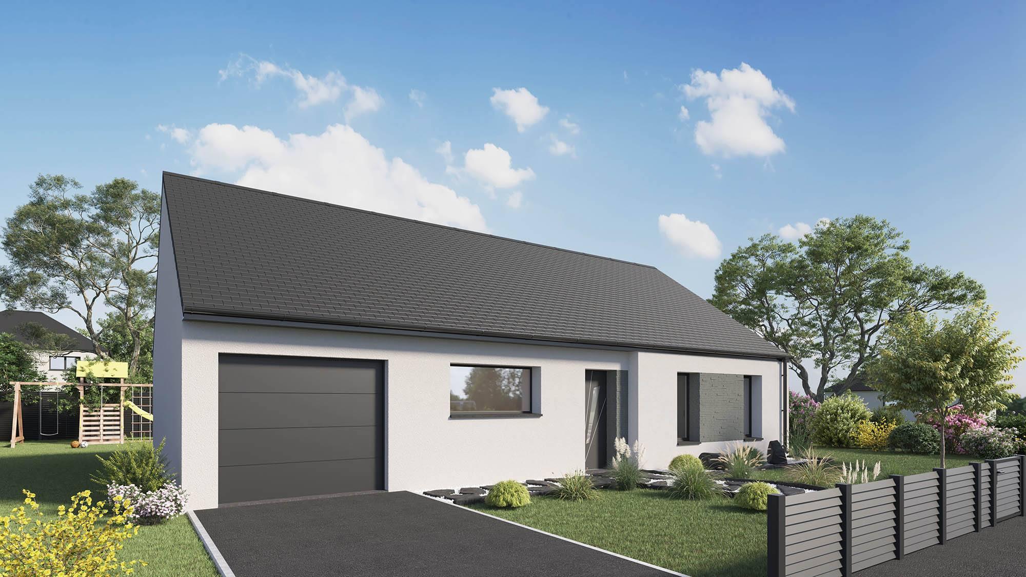 Maisons + Terrains du constructeur Maison Castor Rouen • 96 m² • CLEON