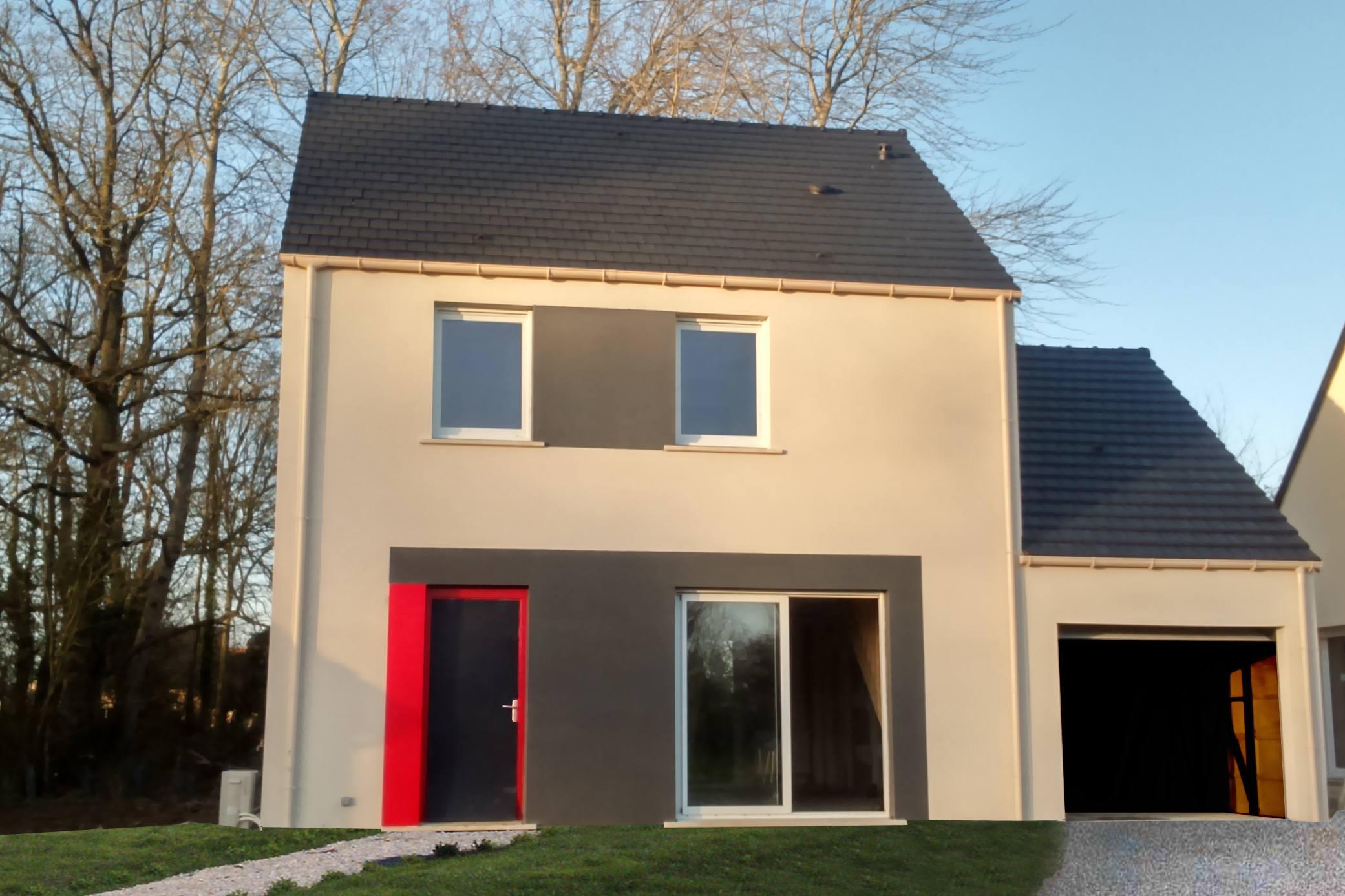 Maisons + Terrains du constructeur MAISONS PHENIX • 80 m² • SAINT AUBIN ROUTOT