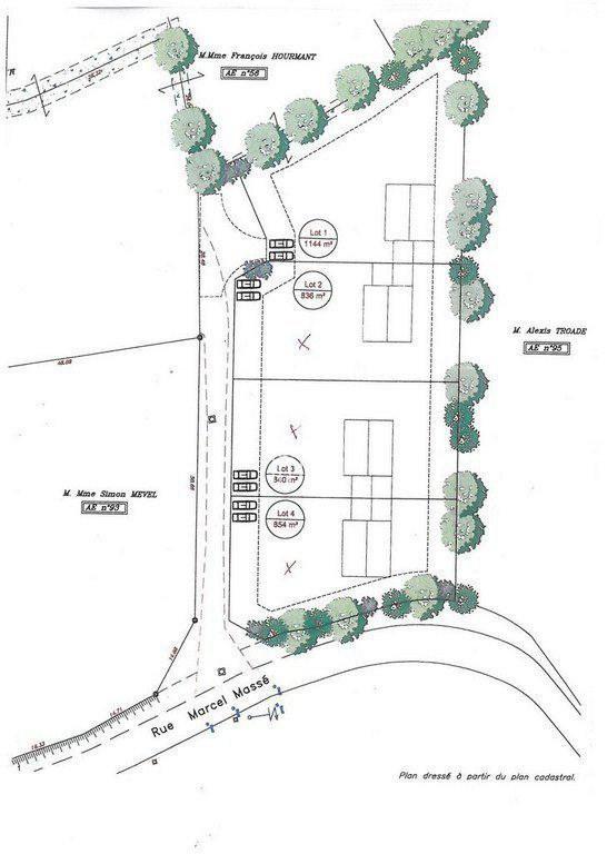 Terrains du constructeur OUEST IMMO • 854 m² • CARHAIX PLOUGUER