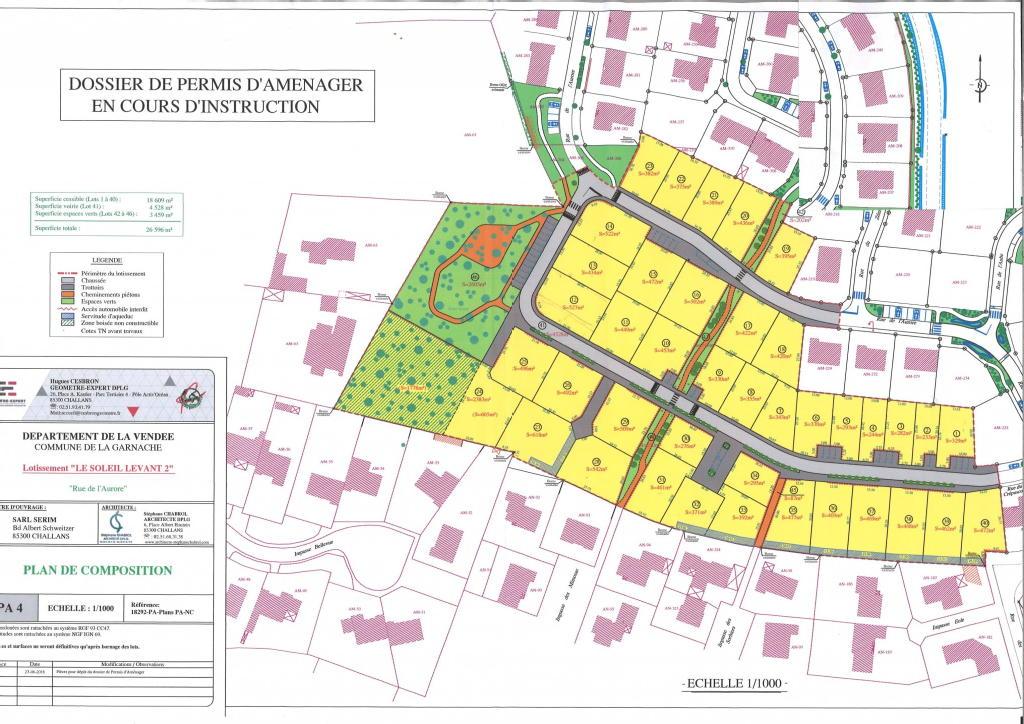Terrains du constructeur ROCHER IMMOBILIER • 472 m² • LA GARNACHE