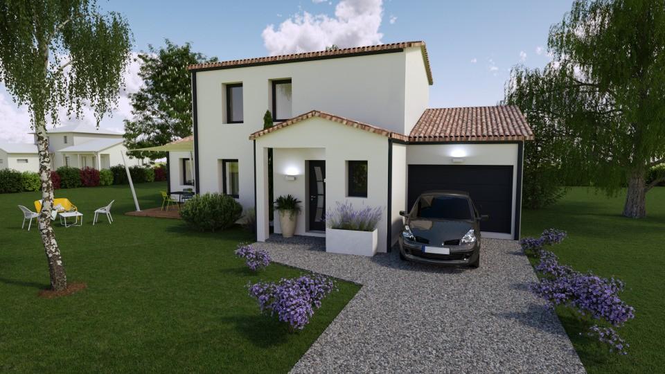 Maisons + Terrains du constructeur BERMAX CONSTRUCTION • 110 m² • SAINT GENIS D'HIERSAC