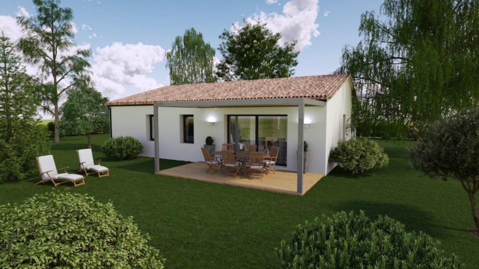 Maisons + Terrains du constructeur BERMAX CONSTRUCTION • 100 m² • TROIS PALIS