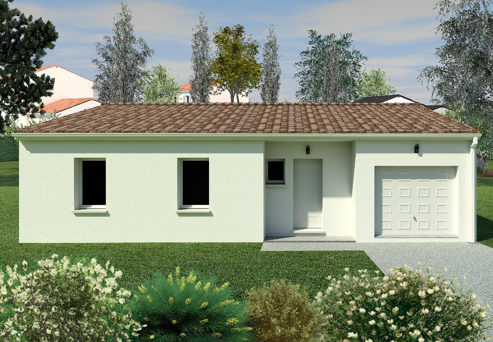 Maisons + Terrains du constructeur BERMAX CONSTRUCTION • 90 m² • ANGEAC CHAMPAGNE