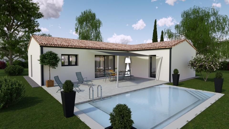Maisons + Terrains du constructeur BERMAX CONSTRUCTION • 100 m² • ANGEAC CHAMPAGNE