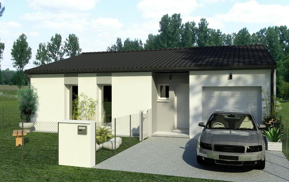 Maisons + Terrains du constructeur BERMAX CONSTRUCTION • 90 m² • MONTIGNAC CHARENTE