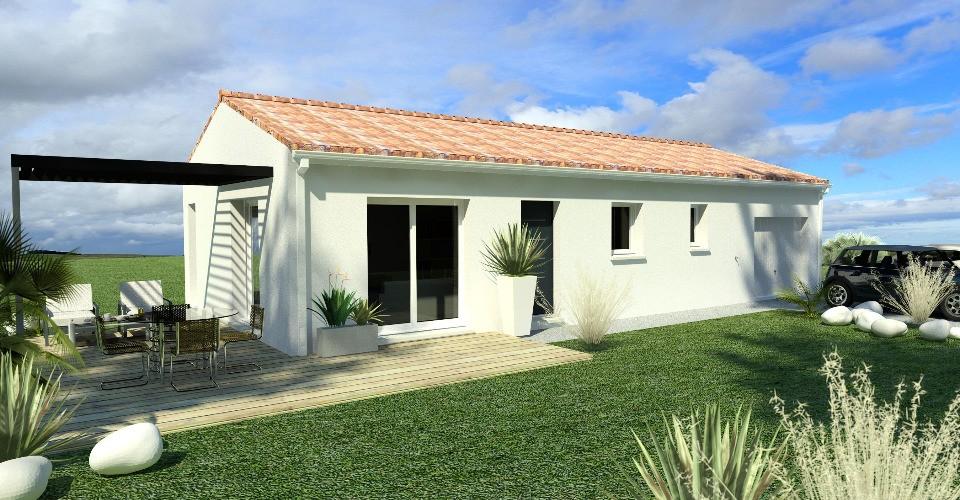 Maisons + Terrains du constructeur BERMAX CONSTRUCTION • 60 m² • TROIS PALIS