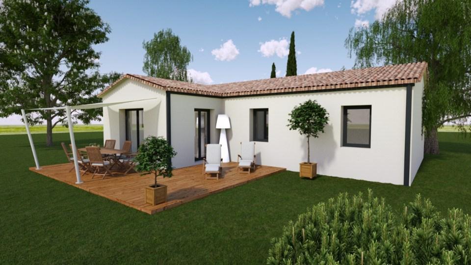 Maisons + Terrains du constructeur BERMAX CONSTRUCTION • 70 m² • TROIS PALIS