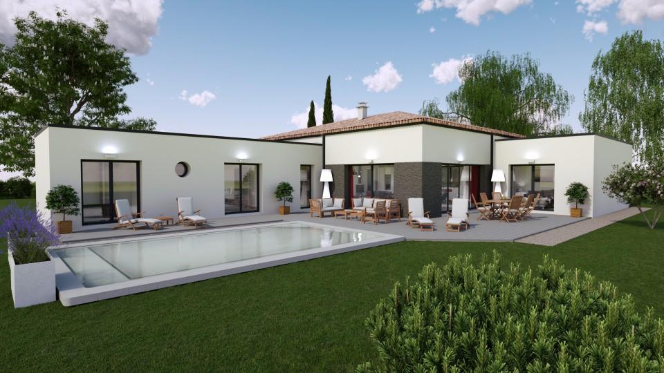 Maisons + Terrains du constructeur BERMAX CONSTRUCTION • 160 m² • GOND PONTOUVRE