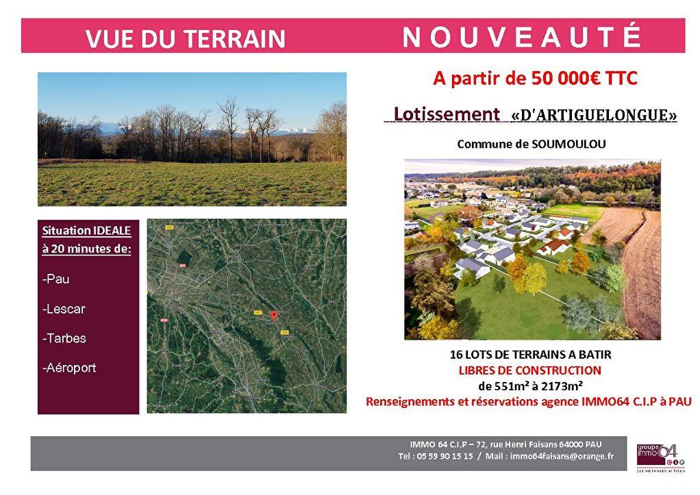 Terrains du constructeur IMMO 64 • 1522 m² • SOUMOULOU