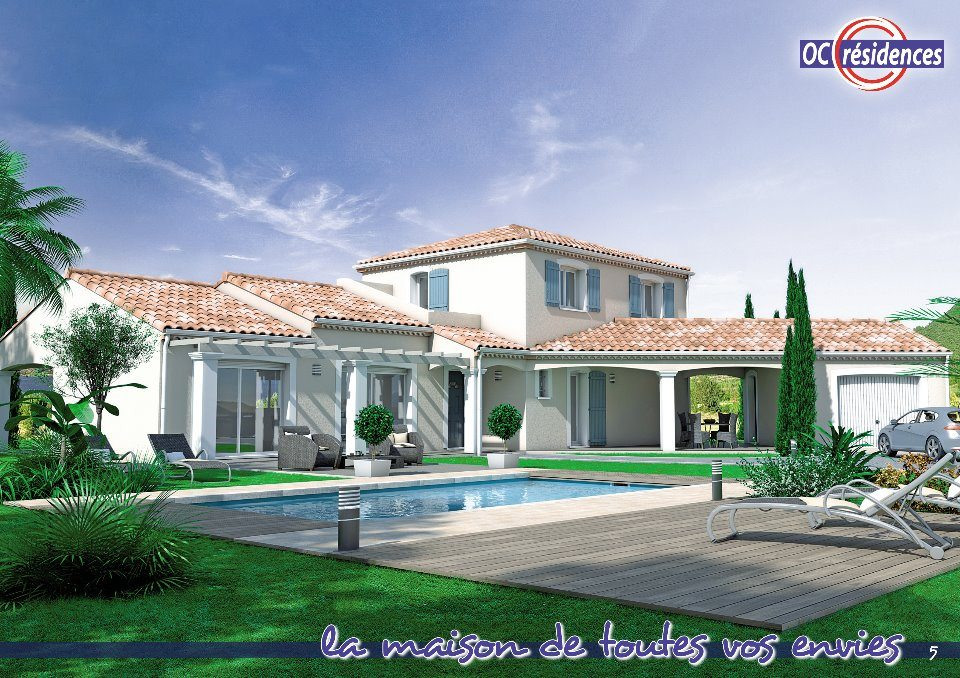 Maisons + Terrains du constructeur OC  RESIDENCES • 163 m² • CASTRES