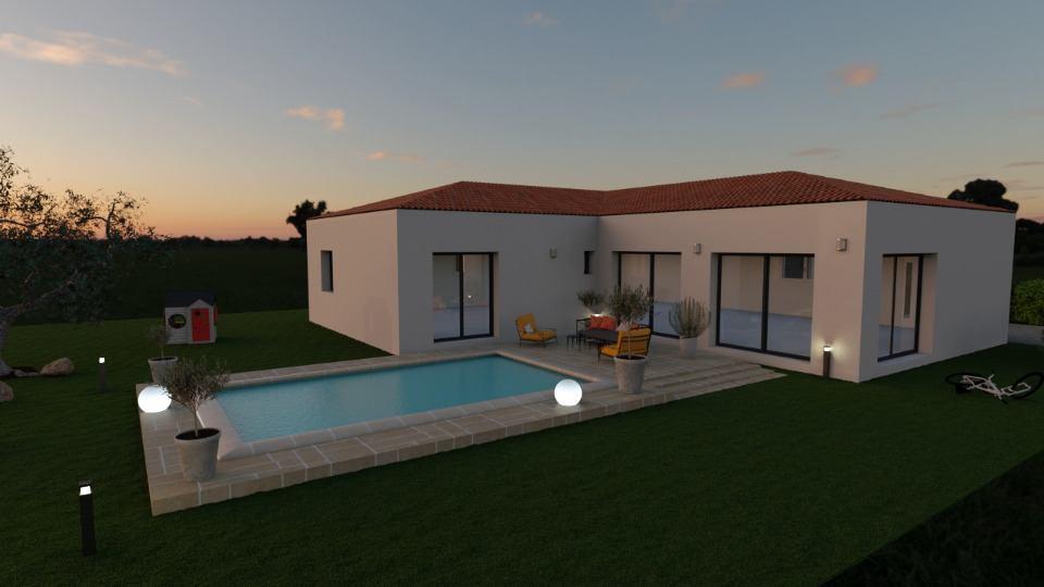 Maisons + Terrains du constructeur MAISONS FRANCE CONFORT • 130 m² • PIEUSSE