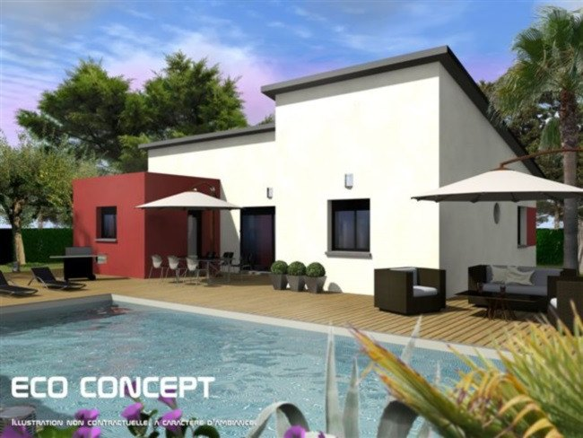 Maisons + Terrains du constructeur MAISONS FRANCE CONFORT • 105 m² • CARCASSONNE