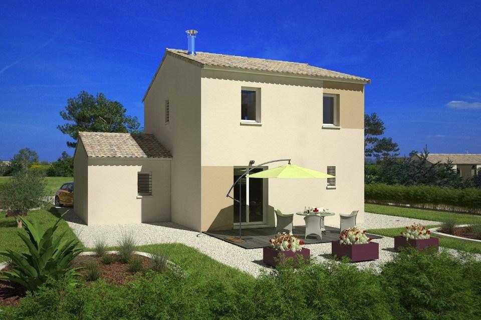 Maisons + Terrains du constructeur MAISONS FRANCE CONFORT • 78 m² • VILLENEUVE LES MONTREAL