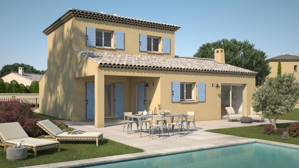 Maisons + Terrains du constructeur LES MAISONS DE MANON • 95 m² • BOUC BEL AIR