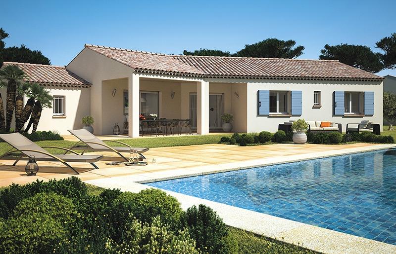 Maisons + Terrains du constructeur LES MAISONS DE MANON • 130 m² • AIX EN PROVENCE