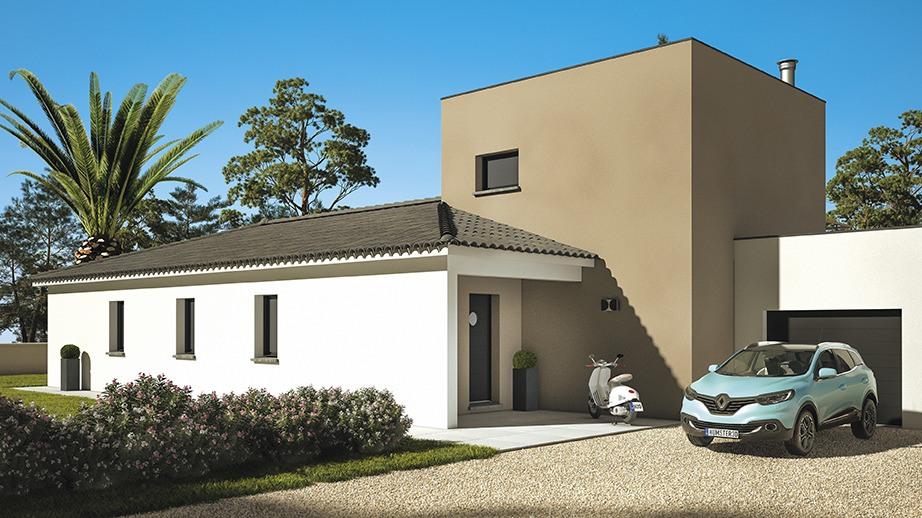 Maisons + Terrains du constructeur LES MAISONS DE MANON • 115 m² • ROGNES
