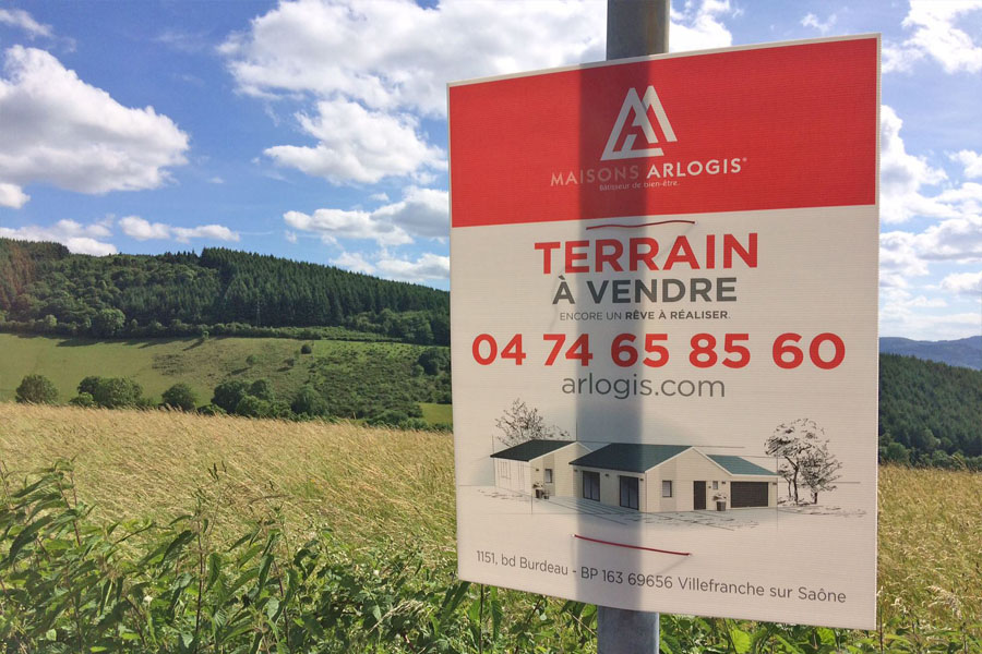 Terrains du constructeur MAISONS ARLOGIS VILLEFRANCHE • 610 m² • ALBIGNY SUR SAONE