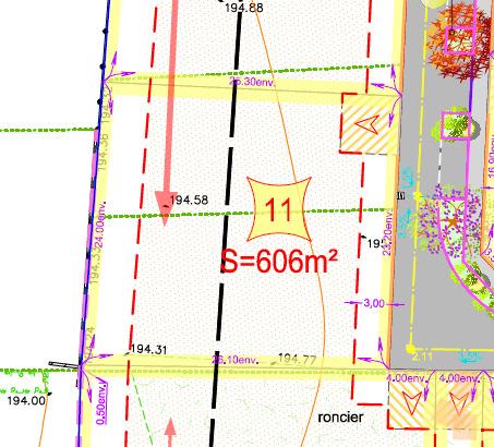Terrains du constructeur MAISONS ARLOGIS VILLEFRANCHE • 606 m² • FLEURIEU SUR SAONE