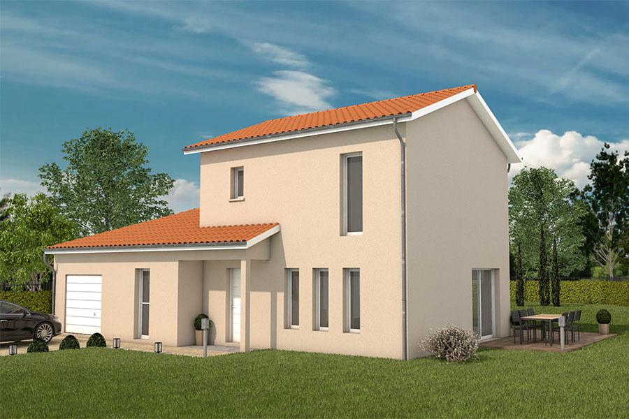 Maisons + Terrains du constructeur MAISONS ARLOGIS VILLEFRANCHE • 120 m² • MONSOLS