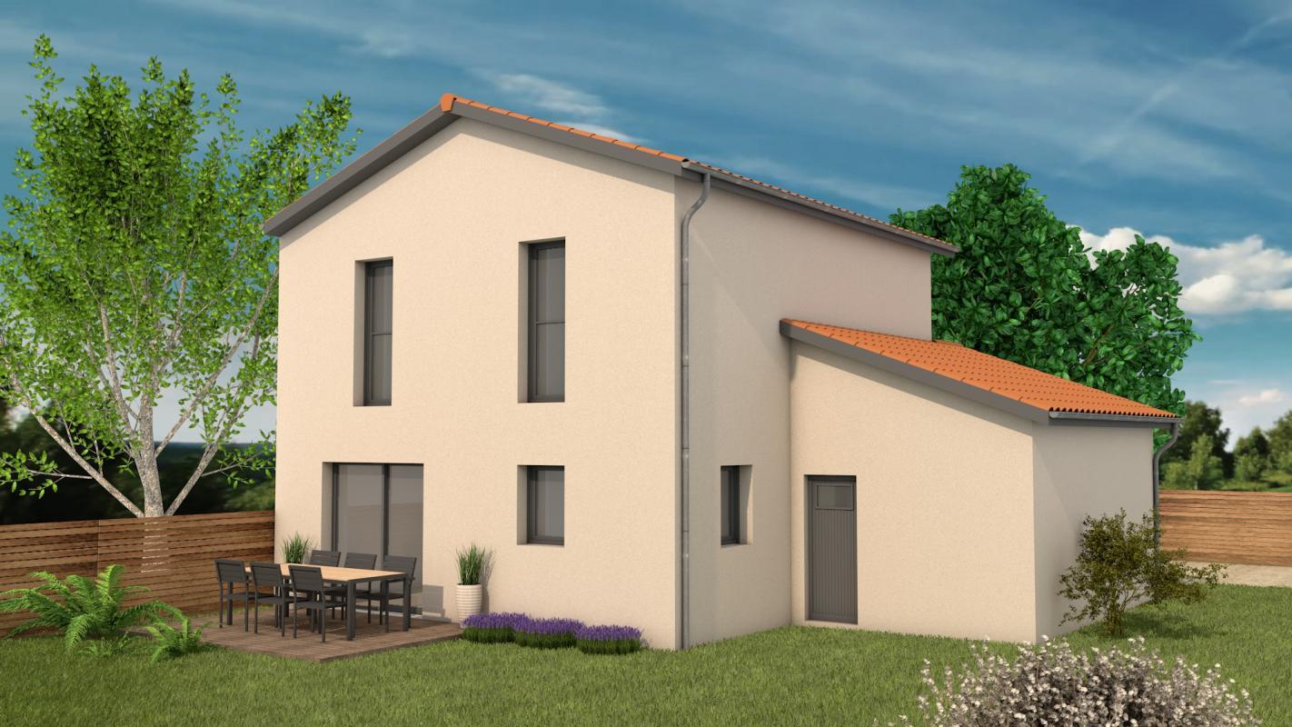 Maisons + Terrains du constructeur MAISONS ARLOGIS VILLEFRANCHE • 90 m² • VILLEFRANCHE SUR SAONE