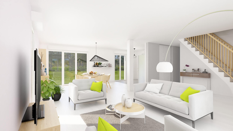 Maisons + Terrains du constructeur HABITAT CONCEPT GOURNAY EN BRAY • 110 m² • FORGES LES EAUX