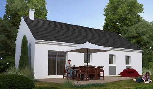 Maisons + Terrains du constructeur HABITAT CONCEPT GOURNAY EN BRAY • 84 m² • CUY SAINT FIACRE