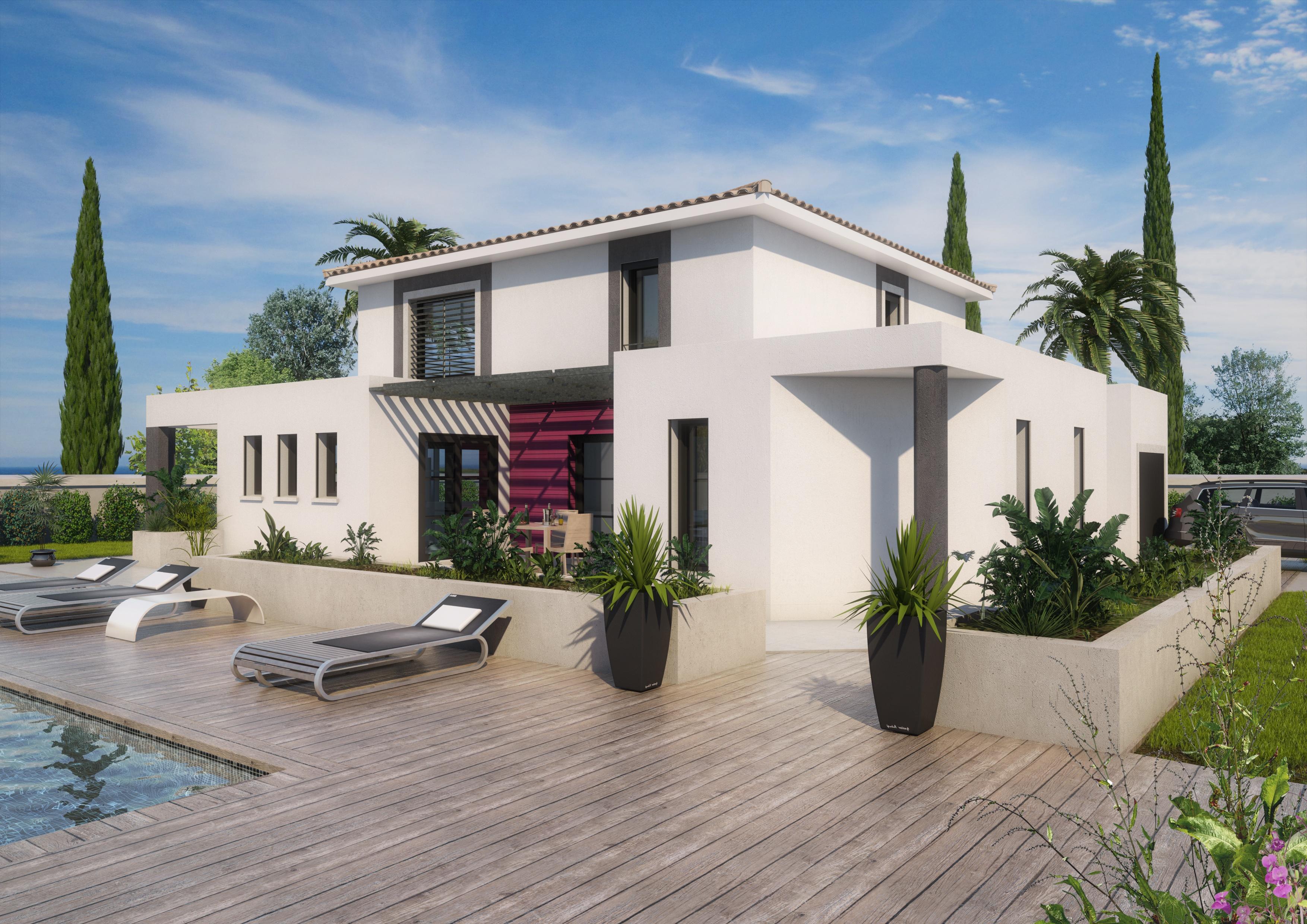 Maisons + Terrains du constructeur ART ET TRADITION MEDITERRANEE • 150 m² • ROBION