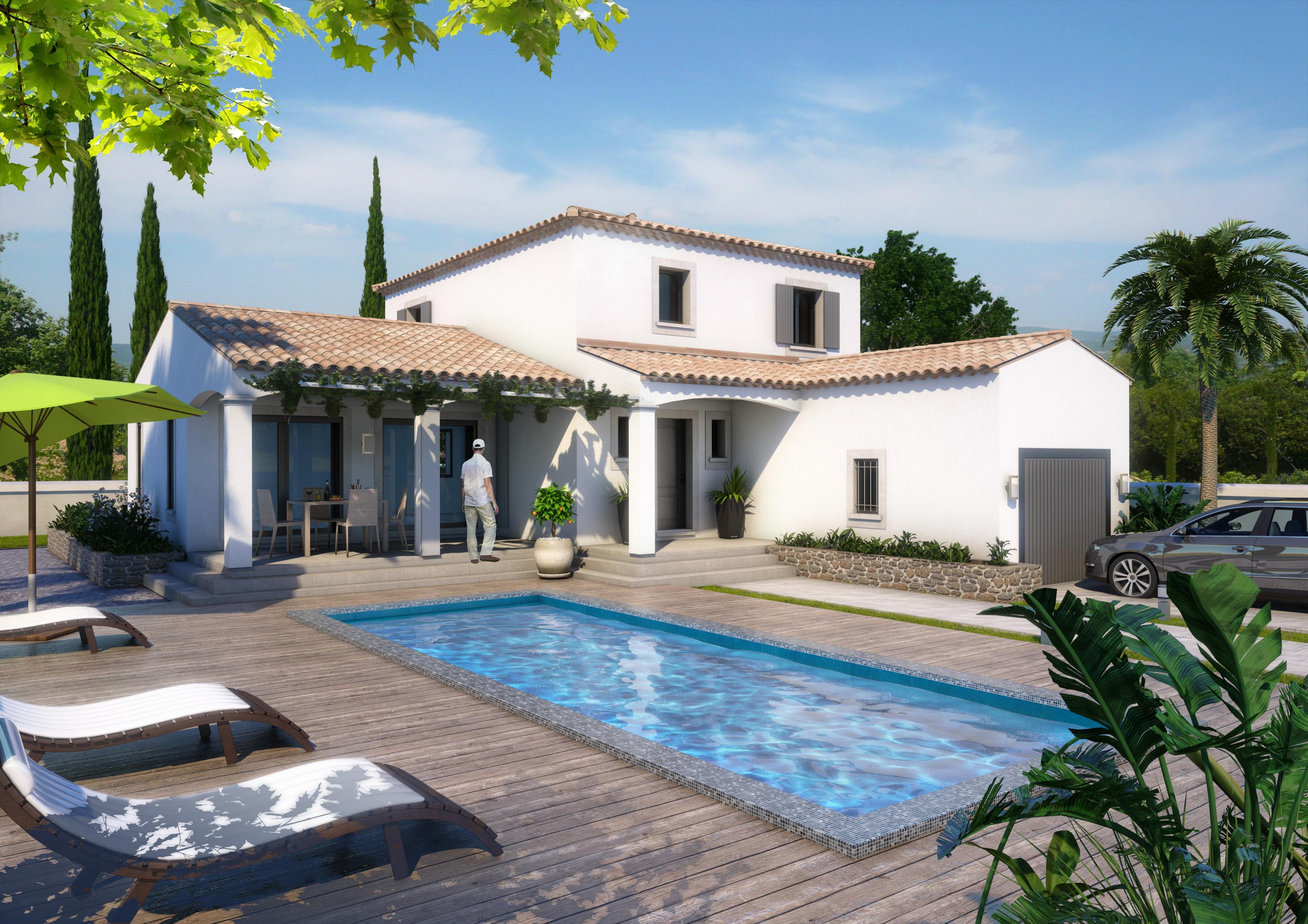 Maisons + Terrains du constructeur ART ET TRADITION MEDITERRANEE • 150 m² • L'ISLE SUR LA SORGUE