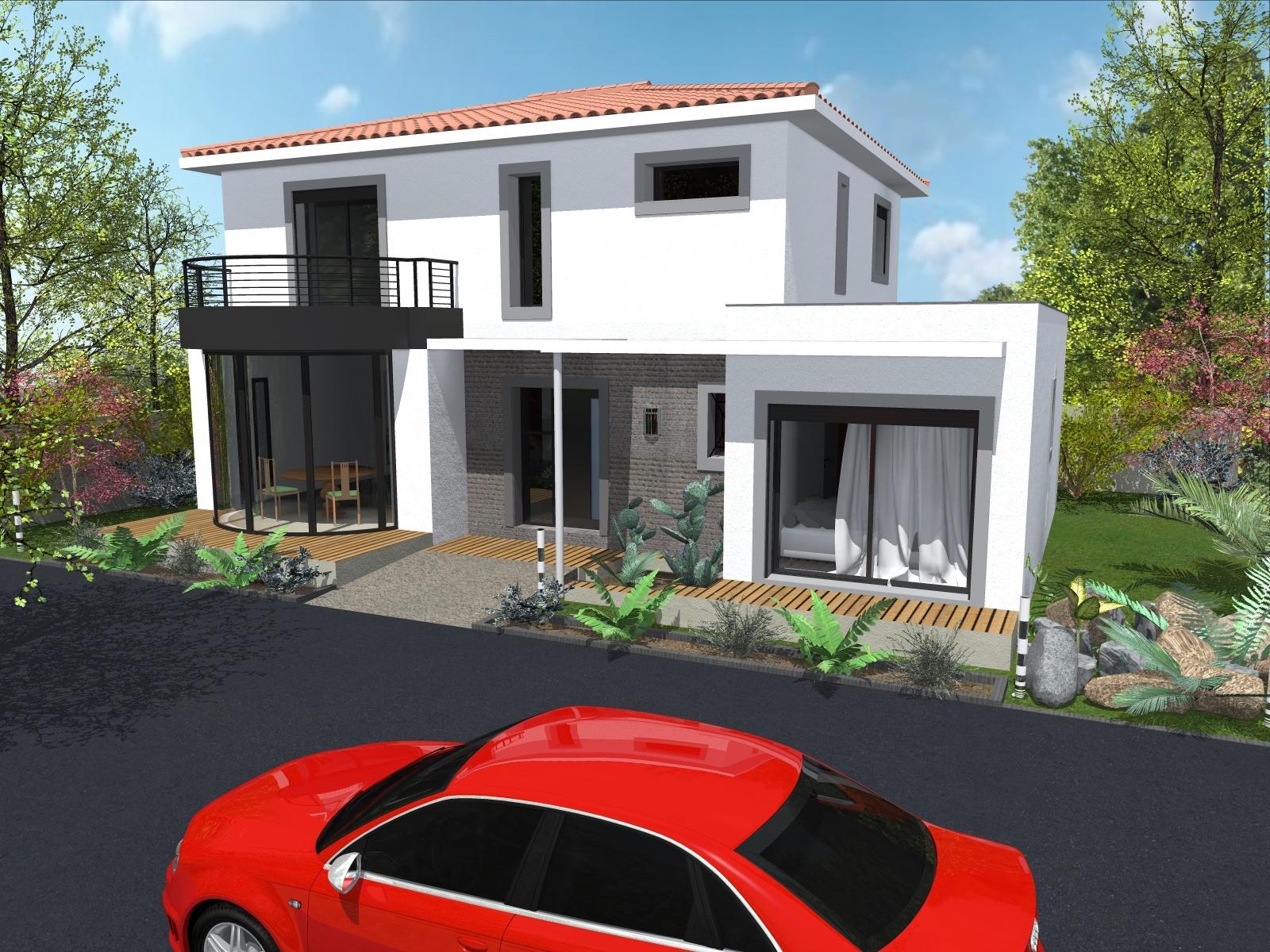 Maisons + Terrains du constructeur ART ET TRADITION MEDITERRANEE • 154 m² • PERNES LES FONTAINES