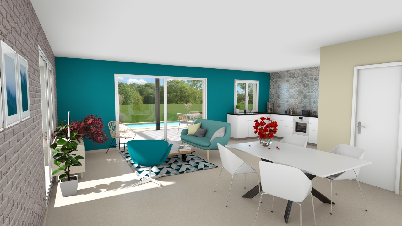 Maisons + Terrains du constructeur ART ET TRADITION MEDITERRANEE • 93 m² • SAINT SATURNIN LES AVIGNON