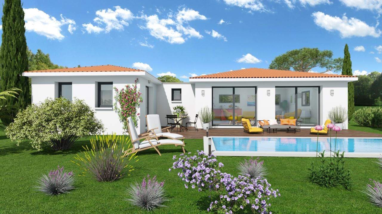 Maisons + Terrains du constructeur ART ET TRADITION MEDITERRANEE • 100 m² • LA ROQUE SUR PERNES