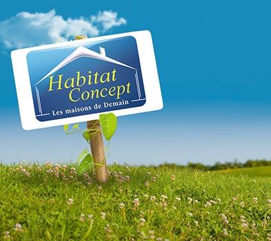 Terrains du constructeur HABITAT CONCEPT REIMS • 546 m² • REIMS