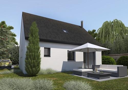 Maisons + Terrains du constructeur HABITAT CONCEPT REIMS • 85 m² • SAINT ETIENNE SUR SUIPPE