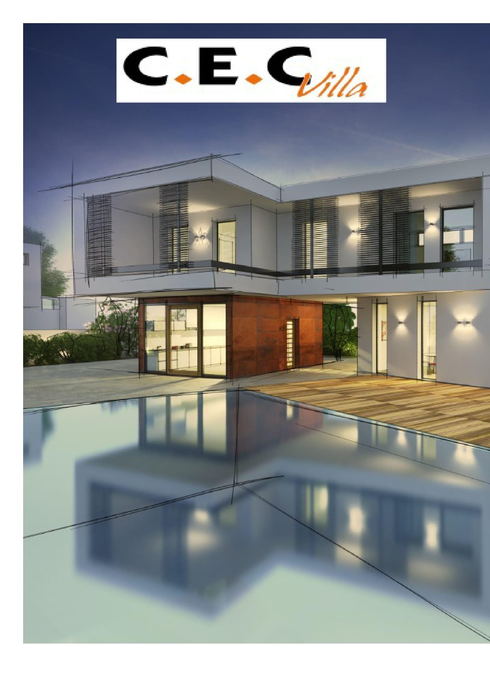 Maisons + Terrains du constructeur CEC VILLA • 90 m² • PEZILLA LA RIVIERE
